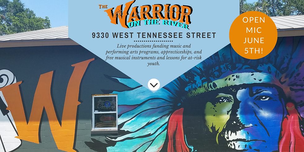 Open Mic Night June 5th at the Warrior