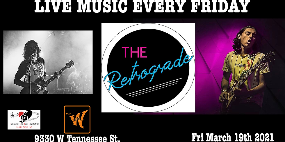 The Retrograde at the old Riverfront Saloon now called The Warrior on the River Fri March 19th 2021