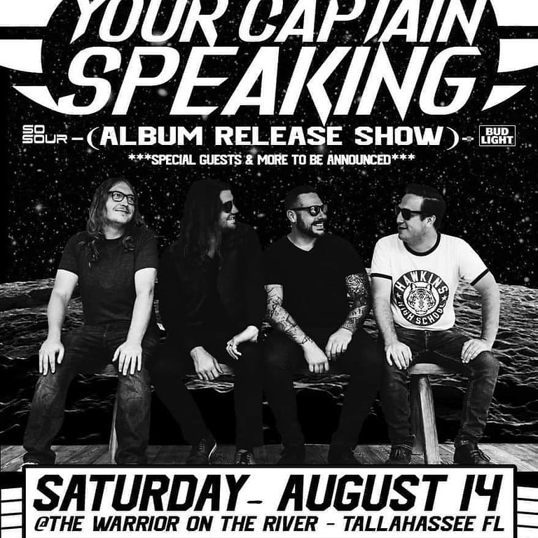 Your Captain Speaking EP Release feat. Ember Fading, Defy The Tyrant & Northy