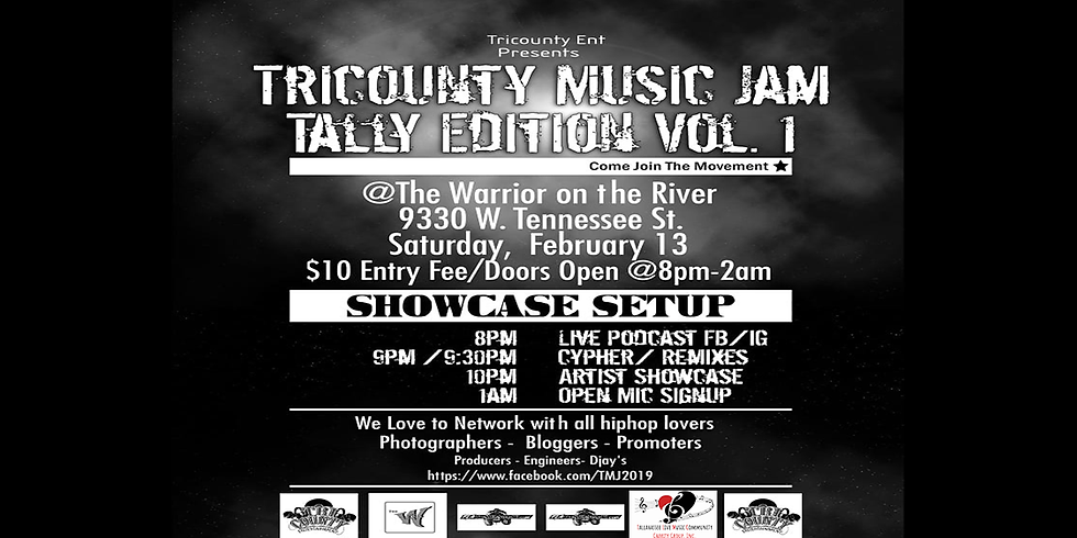 Tricounty Music Jam/ Tally Edition/ Vol 1in the Warrior Music Hall