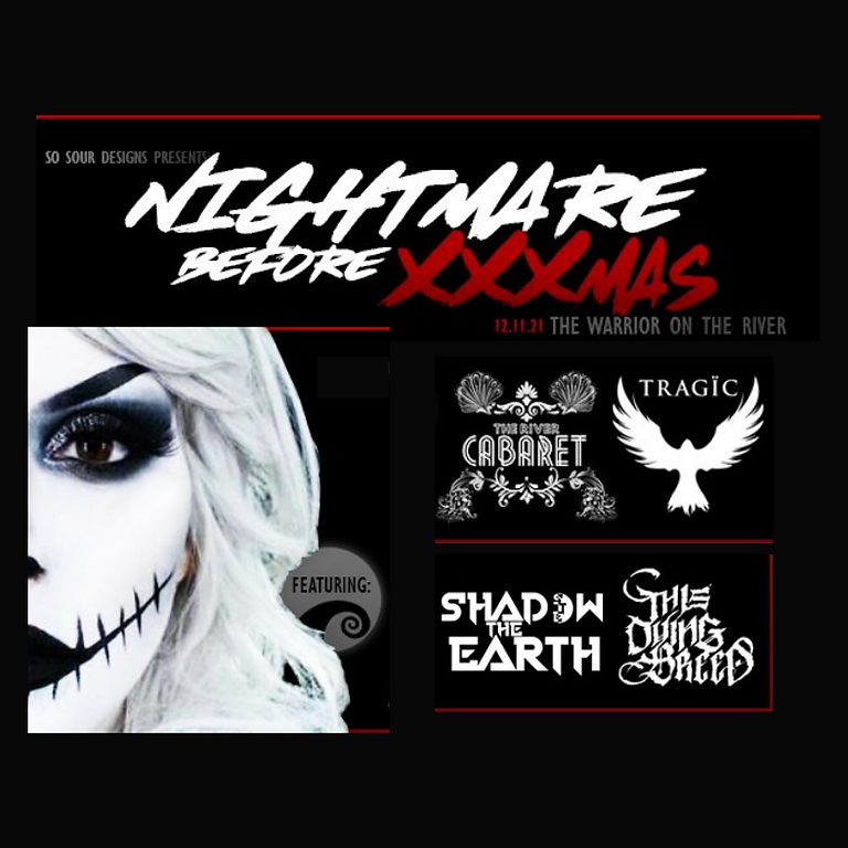Nightmare Before XXXMAS Concert Toy Drive w/ Tragic, Shadow The Earth, This Dying Breed+