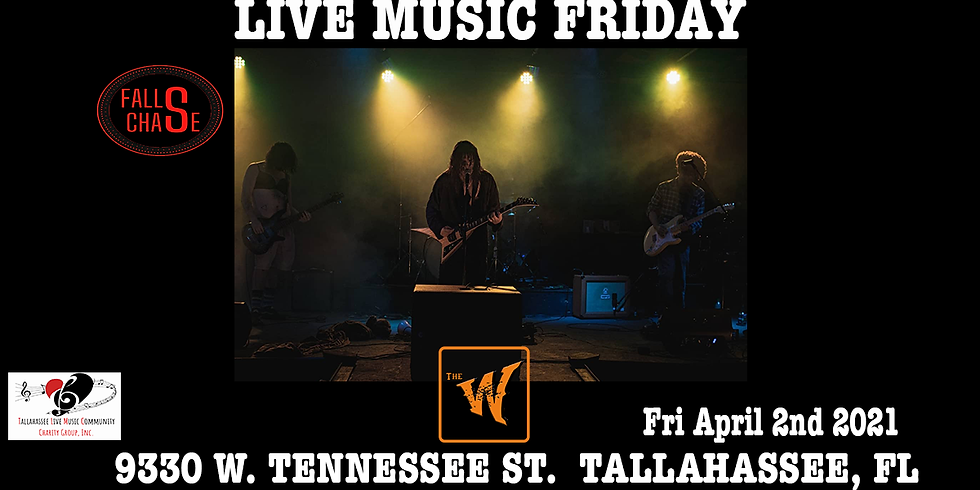 Falls Chase Fri April 2nd at the Warrior on the River!
