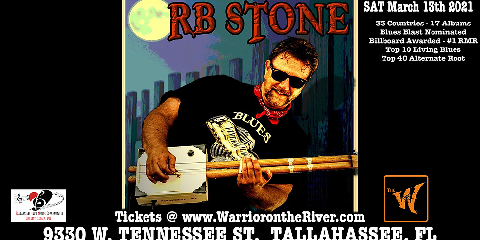 R.B. Stone brings the Blues to the old Riverfront Saloon now called the Warrior on the River!