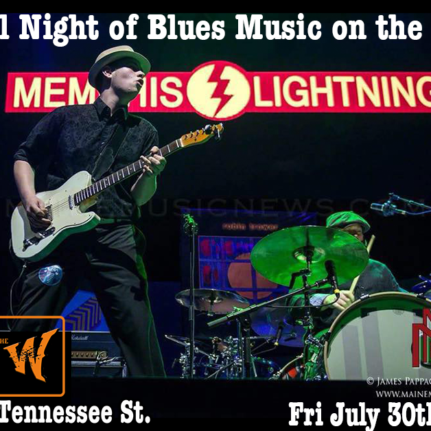 Memphis Lightning @ the Warrior on the River in Tallahassee, Fl
