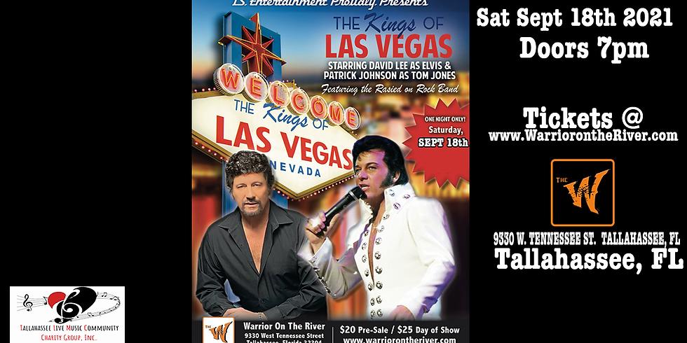 """The Kings Of Las Vegas"" the Ultimate Tribute Spectacular to Elvis Presley and Tom Jones!"
