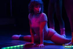 neon disco stretch