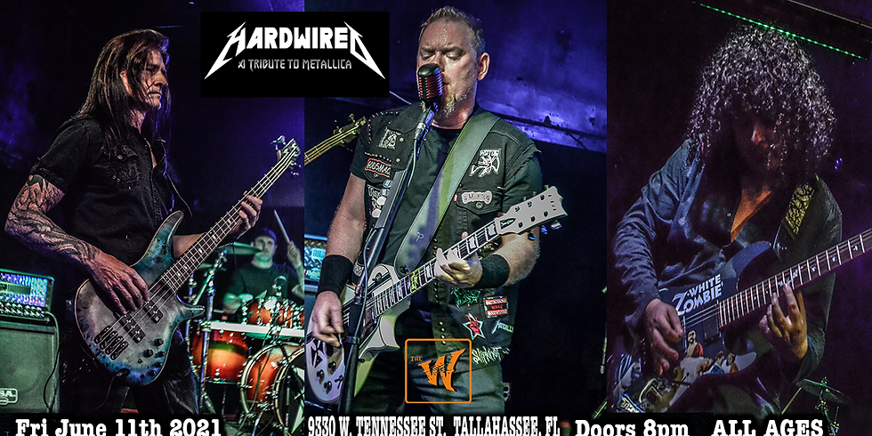 HARDWIRED a Tribute to Metallica at the Warrior on the River