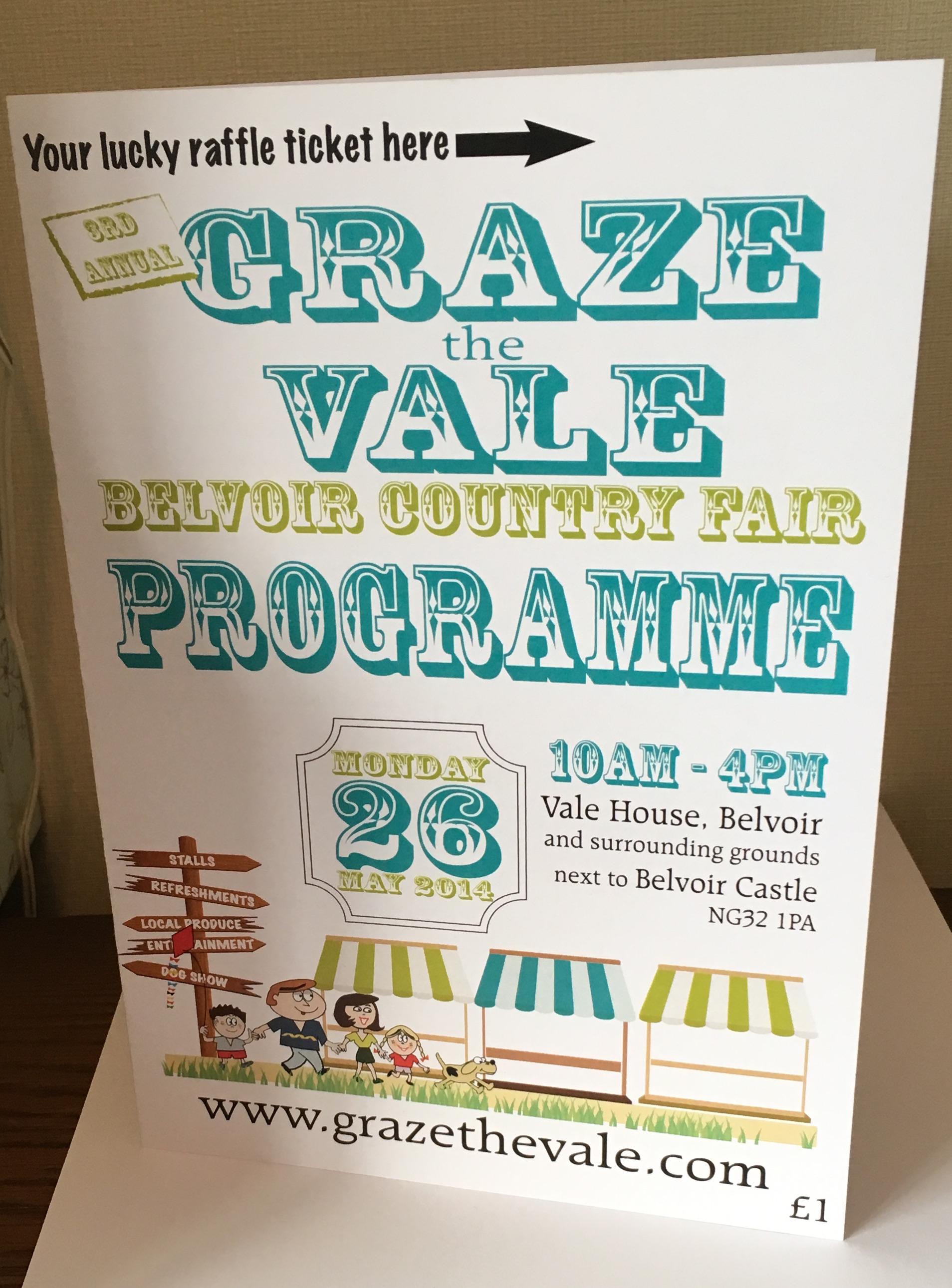 Graze the Vale Programme