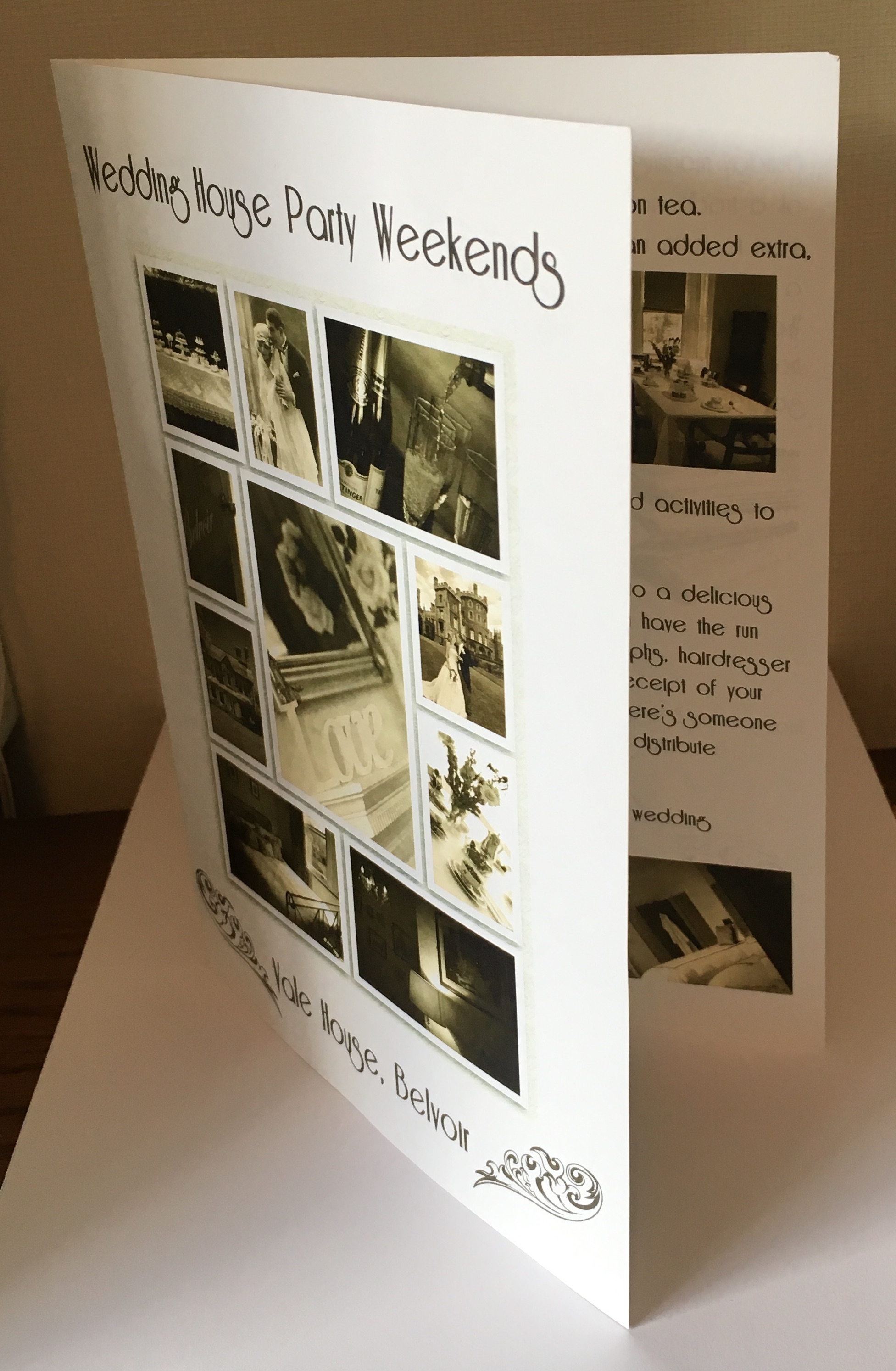 Wedding Weekend Brochure