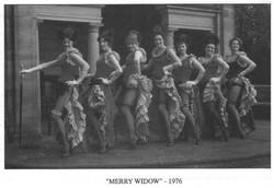 merry widow - 1976