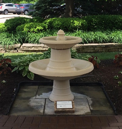 Fountain dedicated in Meghan Joy Brochowski's name at ECEFC