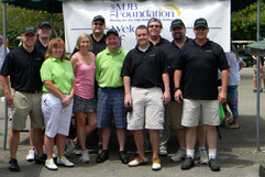Group photo with Windstream, a major sponsor for Golf for Joy 2013