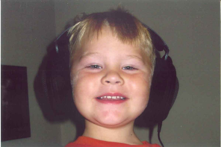 In June of 2010 we gave Kyle a therapeutic listening device.