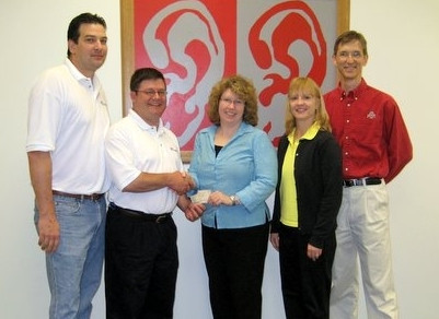 In May of 2007 we donated to the OSU Speech-Language-Hearing Clinic