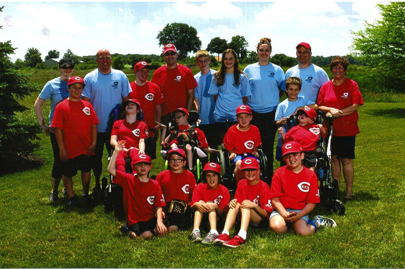 We have been sponsoring The Miracle League Reds Team since 2012