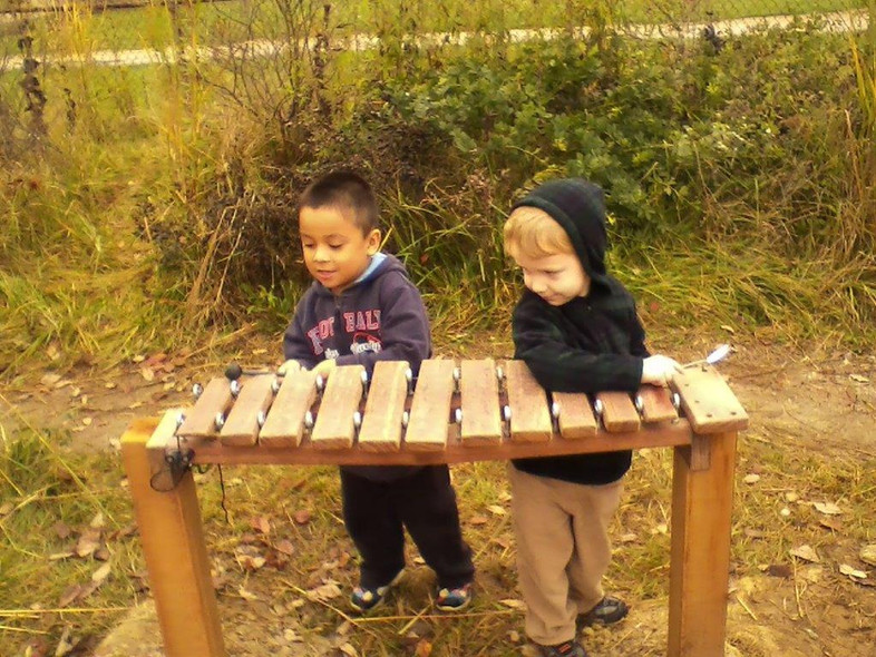 In 2014 'Meghan's Song' xylophone was installed at ECEFC's satellite location.