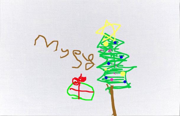 Megan iPad Christmas Card