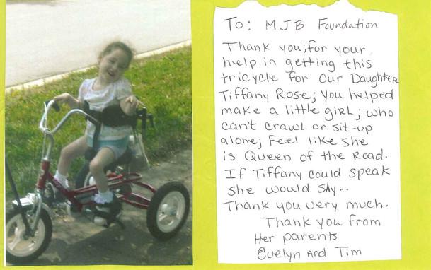 Tiffany Thank You
