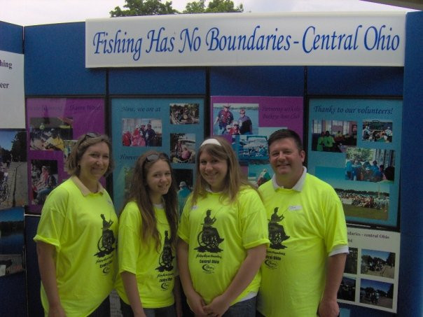 In April of 2008 we donated to Fishing Has No Boundaries.