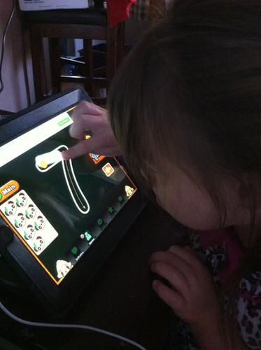 In October of 2012 we gave Megan an iPad.