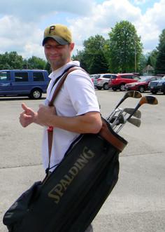 Matt Danzuso ready to golf