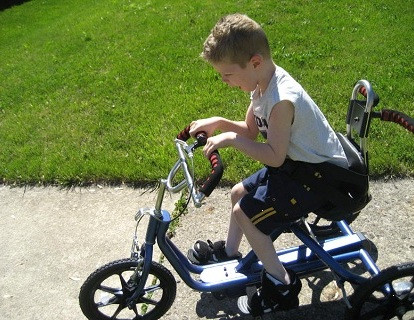 In 2009 we helped Chase get a bike.