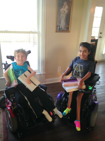 In August of 2015 we gave Gabe and Elizabeth iPads.
