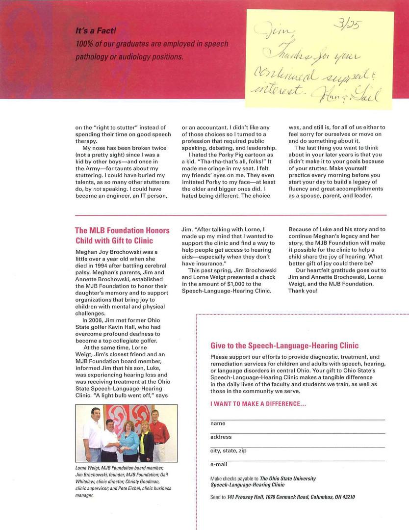 OSU Speech Language - Newsletter