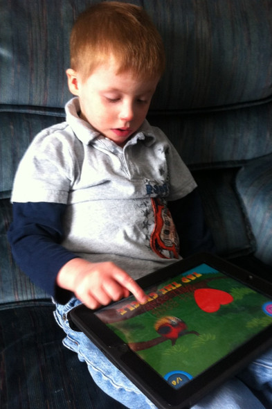 In December of 2012 we gave Isaac an iPad.