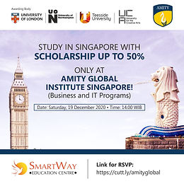 Amity Global Institute Singapore - Info Day