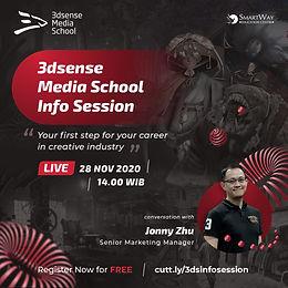 3dsense Media School (Singapore) Info Session!