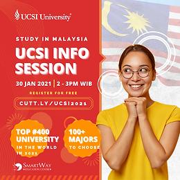 Kuliah di UCSI University Malaysia! Top 400 di dunia tahun 2021 !