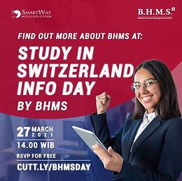 Study in Switzerland! Jaminan Kerja Setelah Selesai Kuliah!