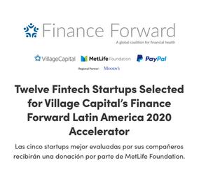 Quipu se une a FinanceForward LatAm con Village Capital! Quipu is part of Village Capital's Fina