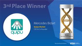 Third prize at Visa's Everywhere Initiative!