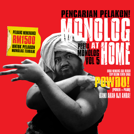 Pesta Monolog Vol 5: Monolog At Home