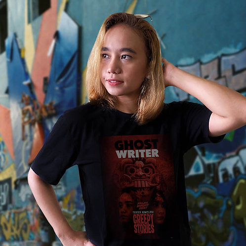 Limited Edition Creepy Stories - Ghostwriter T-Shirt