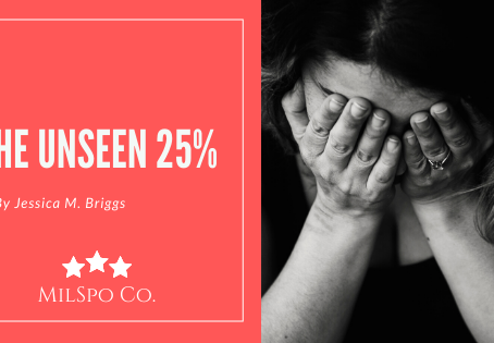 The Unseen 25% by Jessica M. Briggs