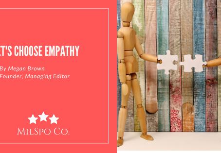 Let's Choose Empathy