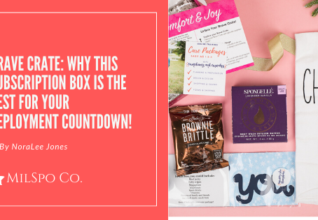 Why this Subscription Box is the BEST for your Deployment Countdown!