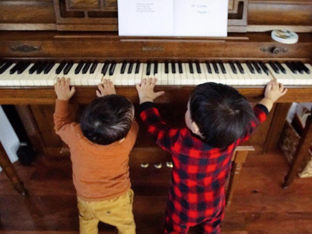 How to bring up a musical generation