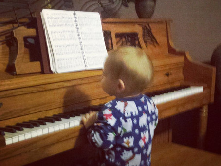 You Shouldn't Wait to Start Teaching Your Toddler About Music, Here's Why!