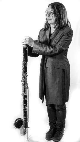 Karen Wimhurst Bass Clarinet Full Length (BW)