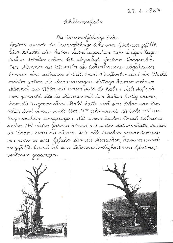 Schüleraufsatz 1957