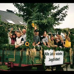 Dorffest 2003 Jägerwagen
