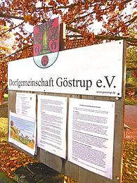 Dorfgemeinschaft_Göstrup_Info-Brett
