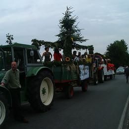 Dorffest 2003 Stopp auf dem Rückweg