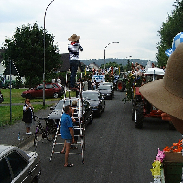 Dorffest 2003 Umzug in Almena