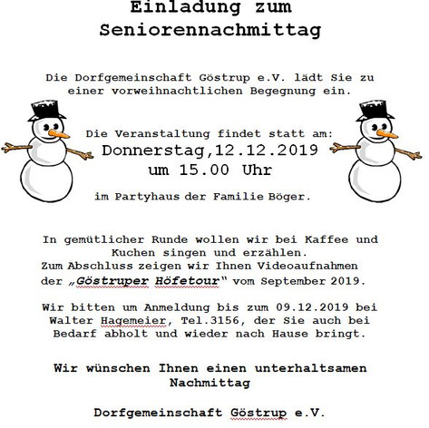 Seniorenkaffee 2019