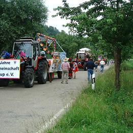 Dorffest 2003 Dorfumzug